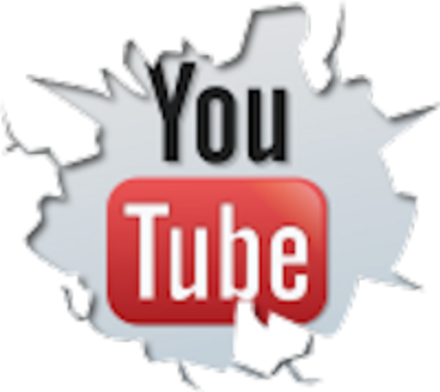 (Cracked YouTube Logo)
