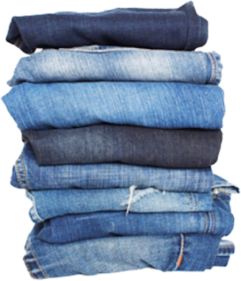 STACK OF JEANS PSD
