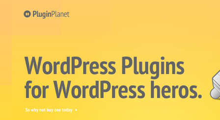Free PSD Website - Plugin Planet