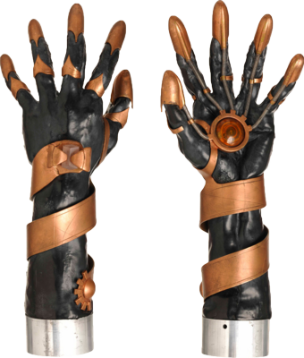 Stargate Gloves PSD