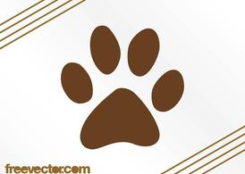 Paw Print Vector Icon