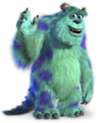 Monsters Inc PSD