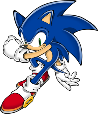 Free Sonic The Hedgehog Psd Vector Graphic Vectorhq Com