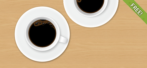 Free Fully Layered PSD Coffee Cup