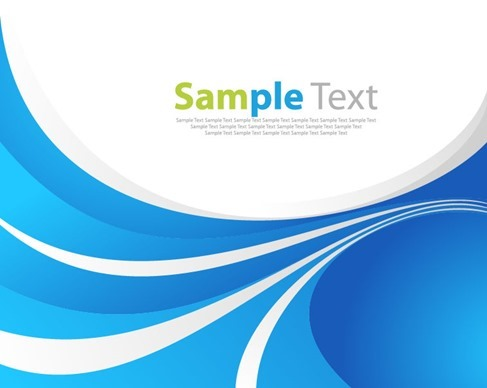 Abstract Blue Vector Art Background Graphic