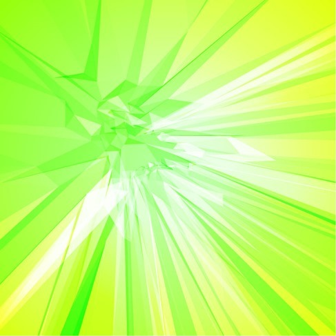 Abstract Background with Green Yellow Color
