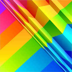 Colorful rainbow background design