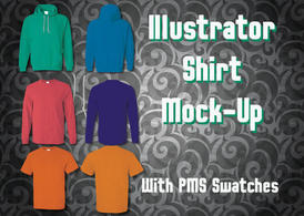 Shirt Mock-Up Shirt Vector File