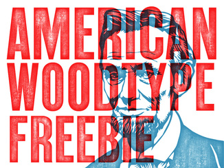 American Wood Type Freebie