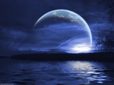 Moon Background PSD