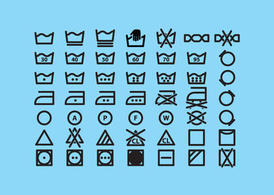 Laundry Vector Icons