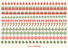 Christmas Border Vectors