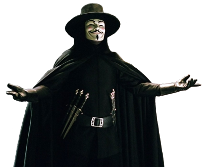 V For Vendetta PSD