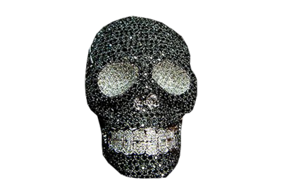 Iced Out Skull PSD