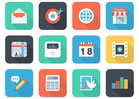Free Flat App Vector Icons For Mobile And Web