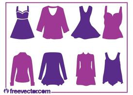Women's Clothes Silhouettes