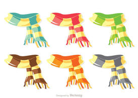 Colorful Scarf Vector Pack