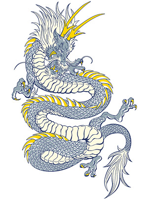 Cool Chinese dragon
