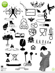 Scissors, patterns, all kinds of