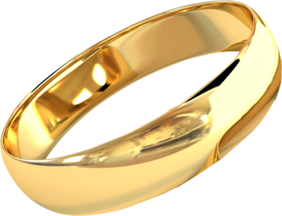 Gold Ring PSD