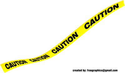 Black and Yellow Caution Tape 2 PSD
