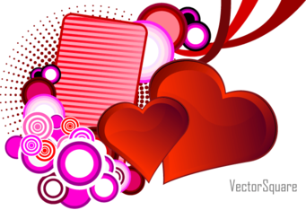 Heart Vector for St. Valentine's Day