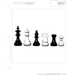 CHESS PIECES VECTOR GRAPHICS.eps