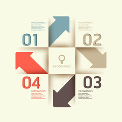 Free vector infographic templates charts graphs