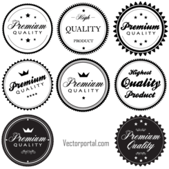 Free Vintage Premium Quality Labels and Stickers