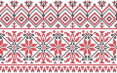 consecutive knitting patterns vector background001