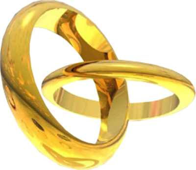 Gold Rings PSD