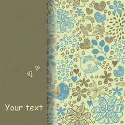 Simple and elegant pattern background
