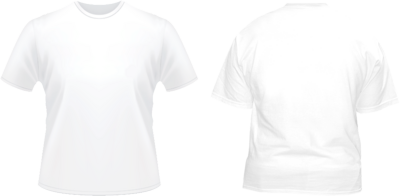 front back white tshirt template psd vectors. Black Bedroom Furniture Sets. Home Design Ideas