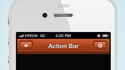 Action Bar (PSD)