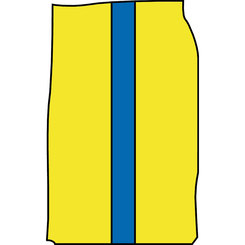 BASKETBALL SHORTS SIDE VIEW VECTOR.eps
