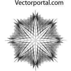 OPTICAL STAR GUILLOCHE VECTOR.eps