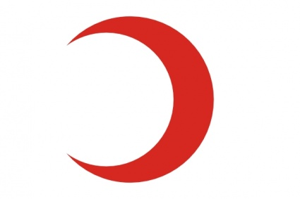 Flag Of The Red Crescent Reverse
