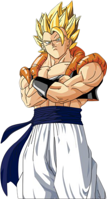 Gogeta From The DBZ Movie PSD