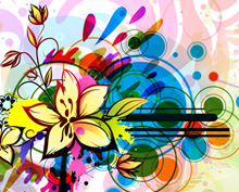 colorful floral illustration