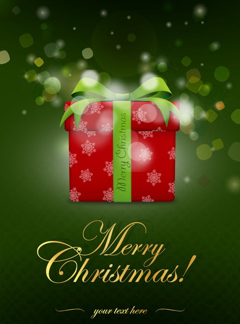 Gift Box Abstract Background for Christmas