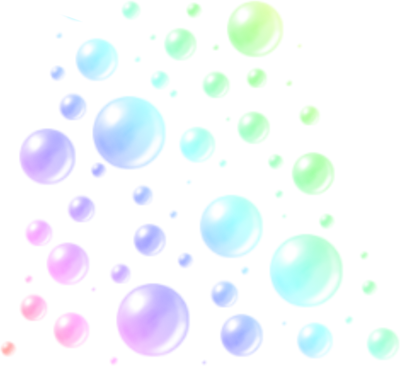 Colorful Bubbles High res PSD