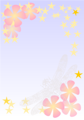 Dragonfly notepaper