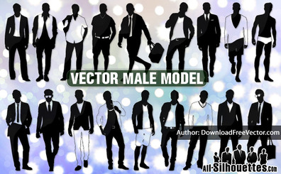 18 Vector male models