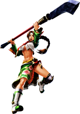 Soul Calibur IV ~ Seong Mina ~ Color Enhanced ver PSD