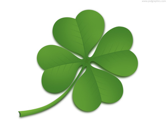 Four leaf clover (PSD)