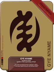 Gye Nyame - Except For God - Tattoo