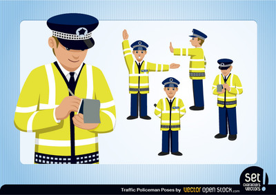 Traffic Policeman Set