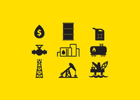 Oil Vector Icons