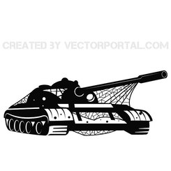 TANK VEHICLE VECTOR GRAPHICS.eps