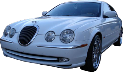 White S-Type Jag PSD